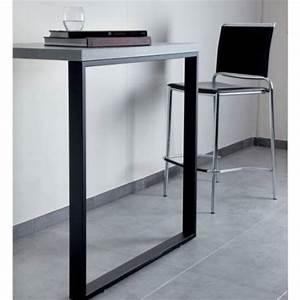 Pieds De Table : pied de table rectangulaire accessoires cuisines ~ Teatrodelosmanantiales.com Idées de Décoration
