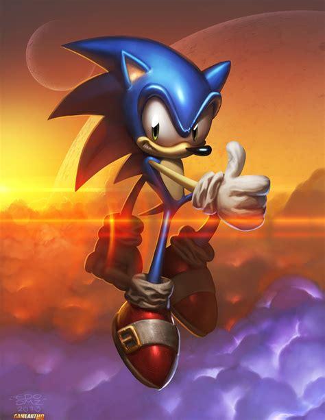 This Sonic Fan Art Rocks