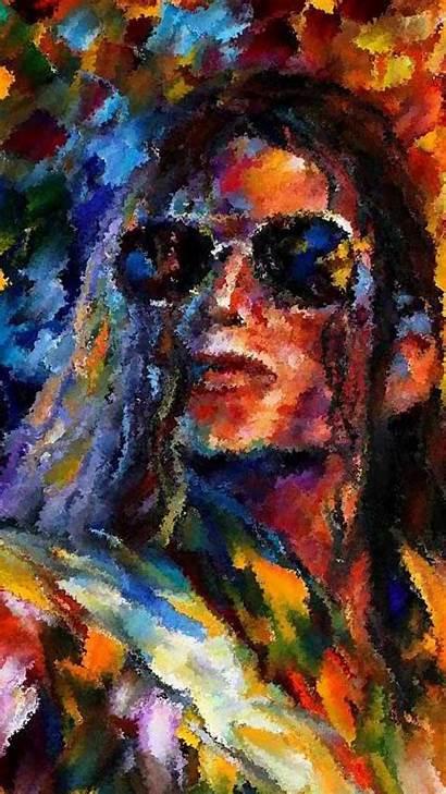 Wallpapers Desktop Famous Michael Jackson Painting Paintings