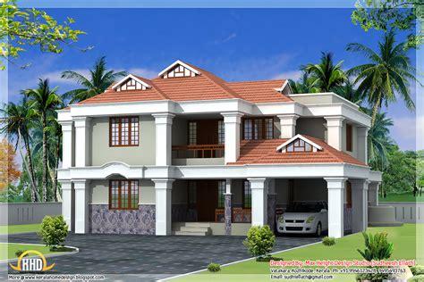 3d House Designs : Kerala Style Beautiful 3d Home Designs
