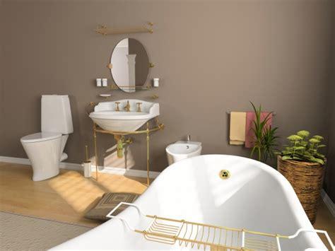 peinture ecaillee salle de bain d 233 coration salle de bain en peinture
