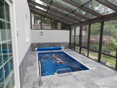 stunning endless pools indoor swimming pool