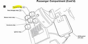 Where Is Fuel Pump Relay Located In 2000 Nissan Altima