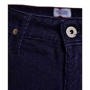 Pantalon Bleu Marine Homme : pantalon tommy hilfiger bleu marine en velour ryan pour ~ Melissatoandfro.com Idées de Décoration