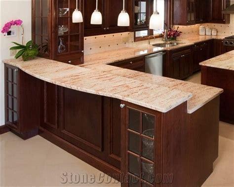 Kitchen Peninsula pink granite   Kitchen ideas   Pinterest