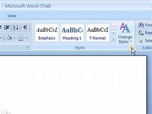 Office 2007 Apa Template How To Modify A Style In Word 2007 Dummies