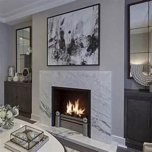 45, Beautiful, Contemporary, Fireplace, Design, Ideas, Freshouz, Com