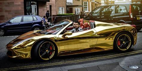 Ferrari type universal plastic kids rc car 1 14 remote control toy car. Golden Ferrari 458 Italia Spider Is Fools Gold