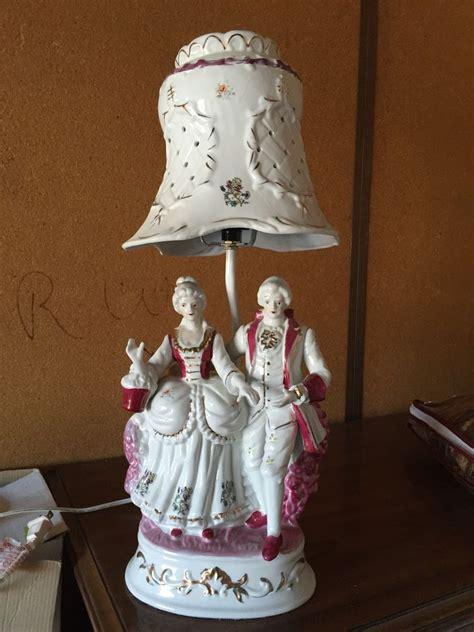 antique porcelain figurine table ls victorian handpainted porcelain figurine with porcelain
