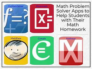 Math Problem Solver Apps To Help Students With Their Math