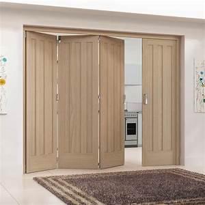 Internal, White, Oak, Unfinished, Aston, Room, Fold, Heavyweight, Core, 3p, Room, Divider, Rf, Ok3p