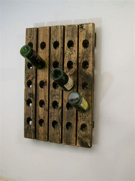 french wine rack distressed wood traditional style wall etsy wine rack   distress wood