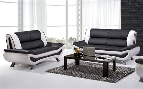 black and white leather sofa set black and white leather sofa set 2811 black and white