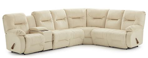 sectional sofas under 700 casual reclining sectional sofa with storage console and