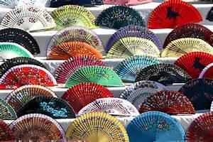 Abanicos Puesto ambulante en la Plaza de España Sevilla Flickr