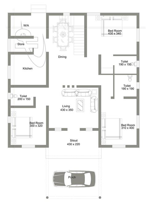 bedroom  roof deck house design pinoy eplans