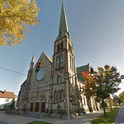 st pauls united church  fredericton canada google maps