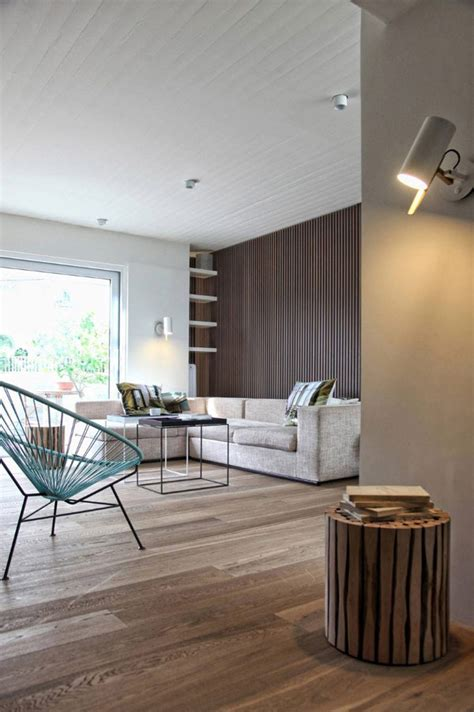impressive minimalist penthouse  athens inspired