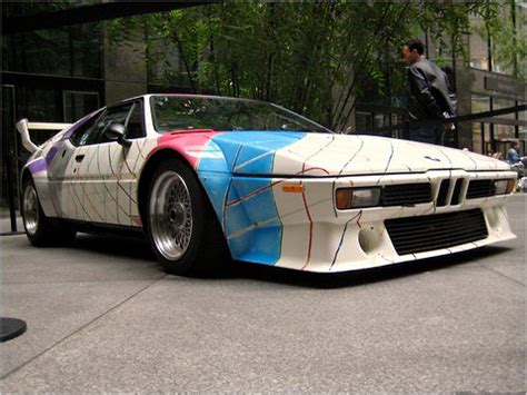 Bmw M1, Painted By Frank Stella, Heading To Auction The