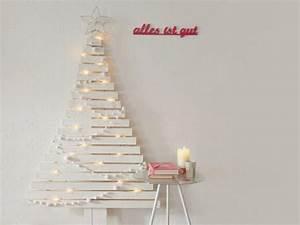 Weihnachtsbaum Aus Holzlatten : diy anleitung alternativen weihnachtsbaum mit holzlatten bauen via holzlatten ~ Markanthonyermac.com Haus und Dekorationen