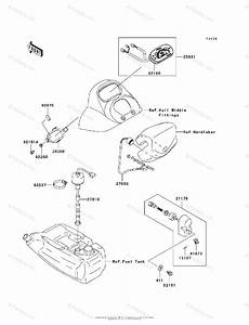 Kawasaki Jet Ski 2008 Oem Parts Diagram For Meters