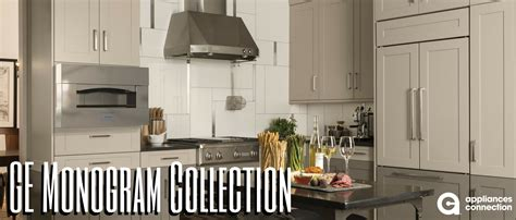 depth    ge monogram collection appliances connection