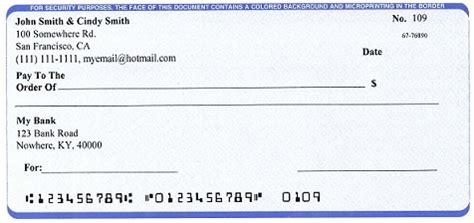mac check writer print professional checks  blank stock