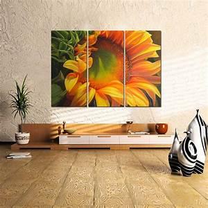K L Wall Art : us ship canvas print home decor wall art painting sunflower flora framed ebay ~ Buech-reservation.com Haus und Dekorationen