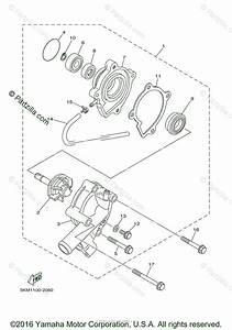 Yamaha Atv 2007 Oem Parts Diagram For Water Pump
