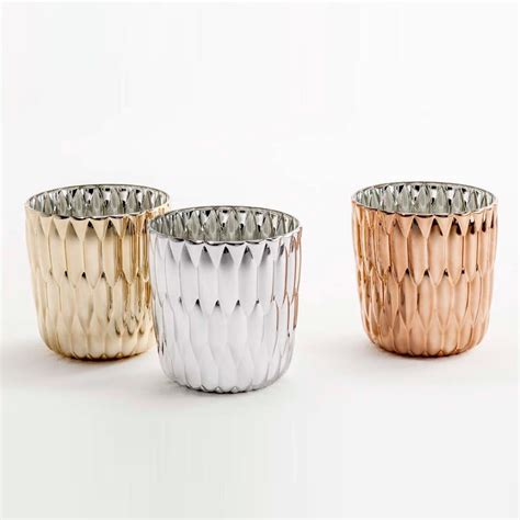 kartell vase kartell jelly metallic vase ambientedirect