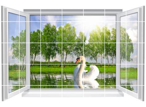 Fliesenaufkleber Natur by Fliesenaufkleber Fliesenbild Fenster Natur See Schwan Bad