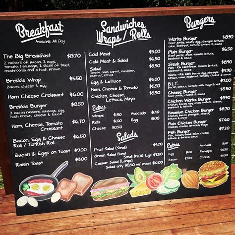 Download coffee shop promo flyer graphic templates by uicreativenet. Menu board for Lunchbox @ 53 in Northgate. | Coffee shop menu, Breakfast menu design, Breakfast ...