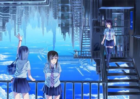 anime island down syakugan100 272352 zerochan