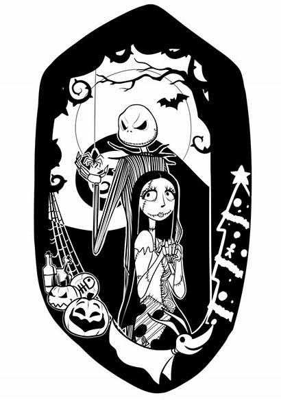 Sally Jack Vector Drawing Nightmare Before Christmas