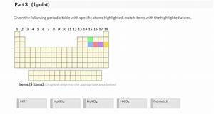 Solved  See Periodic Table Q See Hint Part 1  1 Point  Giv