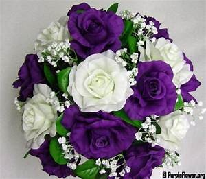 Purple Flowers Perfect for Wedding Bouquets ...