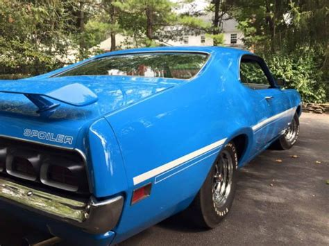 1970 Mercury Cyclone Spoiler 429 Super Cobra Jet 4 Speed