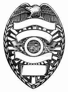 Vector Template » Police Shield Badge Vector - Free ...