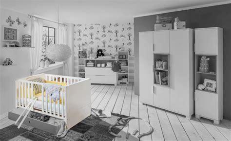lit bebe joris chambre bebe blanc gris blanc