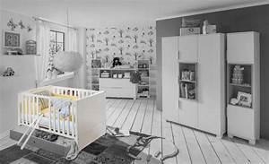 Lit bebe joris chambre bebe blanc gris sable for Suspension chambre enfant avec matelas mousse ou memoire de forme