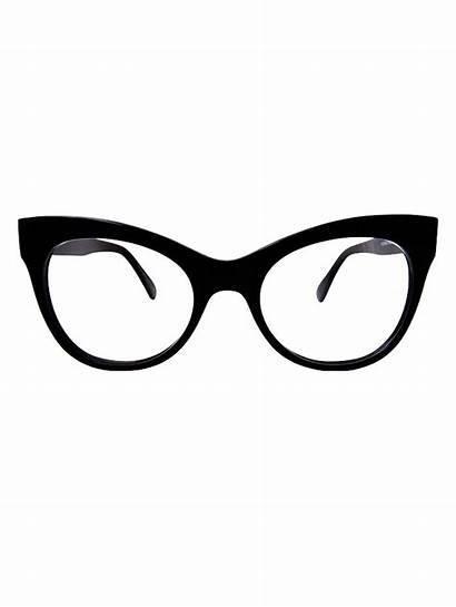 Glasses Eye Cat Frames Clipart Eyes Cats