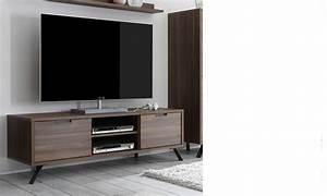 Meuble Tv Bois Fonce Maison Design