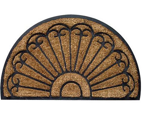 semi circle doormat doormats large and small for a beautiful home