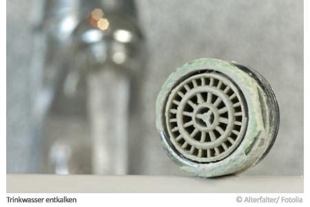 kalkhaltiges wasser entkalken trinkwasser entkalken so geht s
