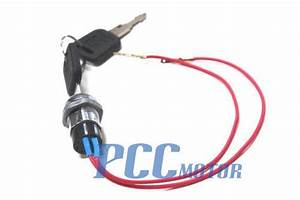 2 Wires Ignition Key Switch 49cc Super Pocket Bike Scooter