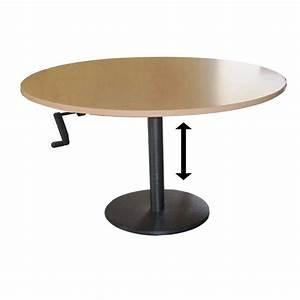 Table Basse Reglable Hauteur : table hauteur variable ~ Carolinahurricanesstore.com Idées de Décoration
