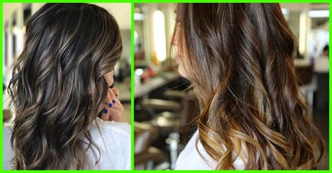 highlight ideas  dark brown hair