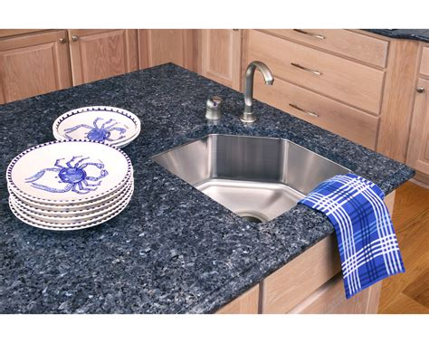 blue granite kitchen countertops in richmond virginia