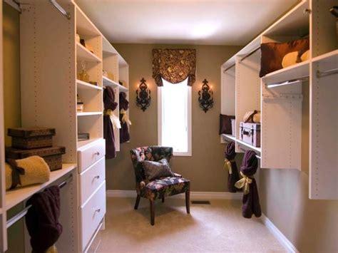 walk in closet ideas organization hgtv