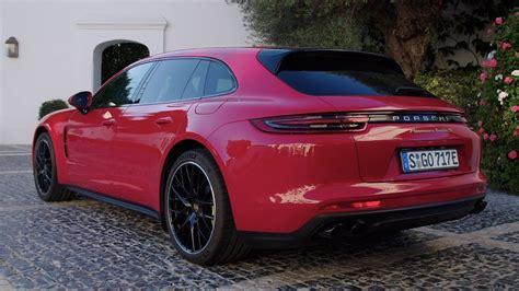 porsche panamera hybrid red 2018 porsche panamera turbo s e hybrid sport turismo